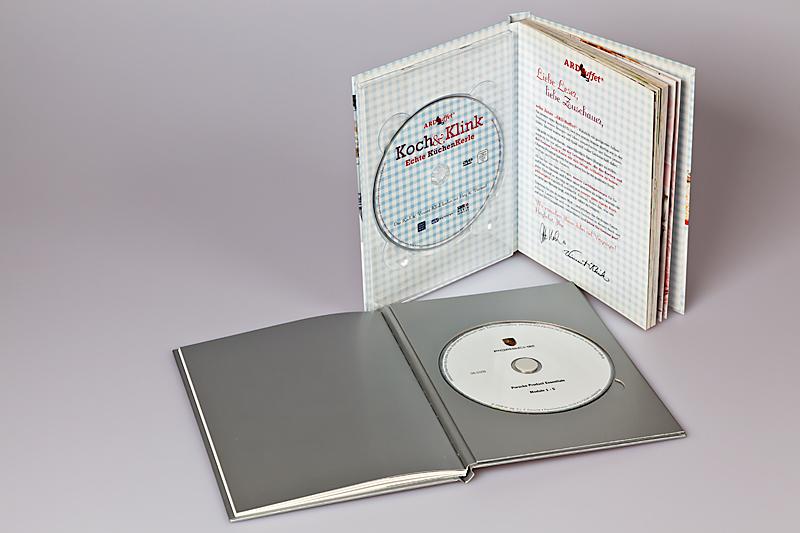 Bücher mit integrierter CD