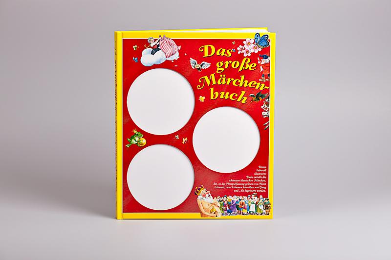 Kinderbuch mit gestanzter Decke zum Einlegen von CD's